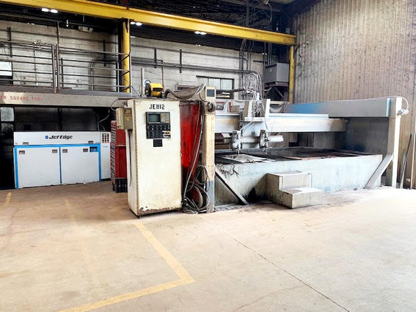 1989 Jet Edge 8x12 dual head 3 axis water jet