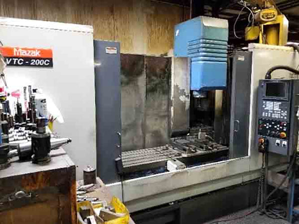 2000 Mazak VTC-200C - Under Power, Video Available