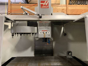 2008 haas VF-5B/40XT  LOW  hours(1000), Probing, vices, Tooling included