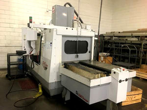 2000 Haas VF-4, Sidemount ATC, Wired For 4th Axis, APC, Macros