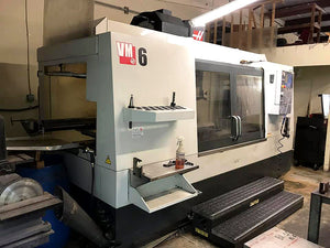 2010 Haas VM-6 - Wireless Intuitive Probing System - Video Available
