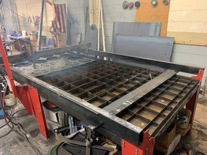 "Wright CNC Plasma Table 4x8 , 1/2"" Capacity, 2017, Hypertherm 45 included, Cut Ready"
