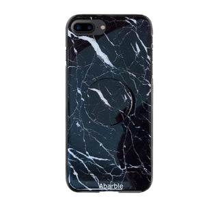 Thunder Marble iPhone Case + Grip