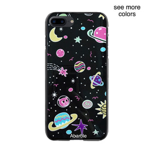 Cute Planets iPhone Case