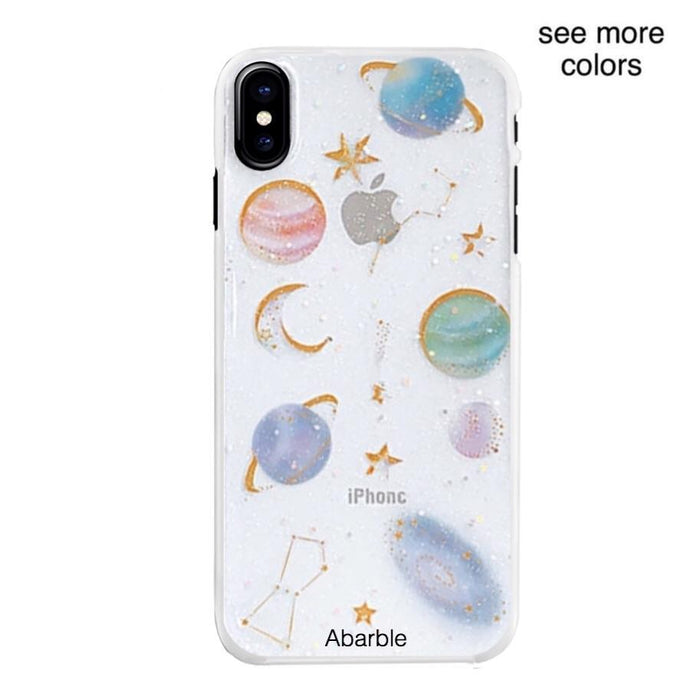 Space Glitter iPhone Case