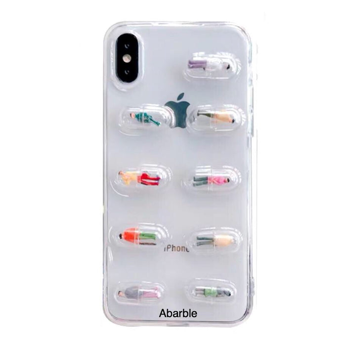 Capsules iPhone Case