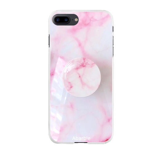 Pearl Marble iPhone Case + Grip