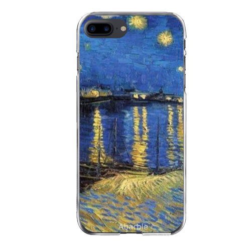 Starry Night Over The Rhone iPhone Case