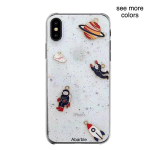 Glitter Space iPhone Case