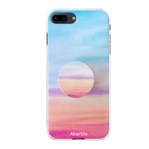 Sunset Marble iPhone Case + Grip