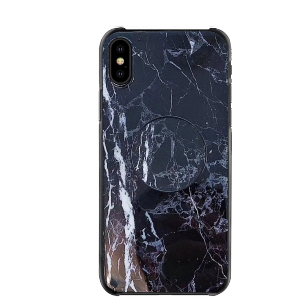 Crackle Marble iPhone Case + Grip