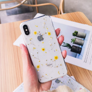 Tiny Dried Flowers iPhone Case