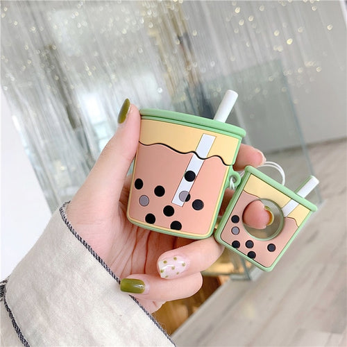 Boba Tea Airpod Case