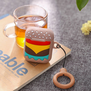 Burger Airpod Case