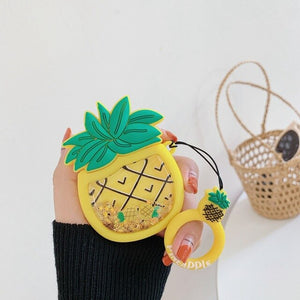 Quicksand Pineapple Airpod Case