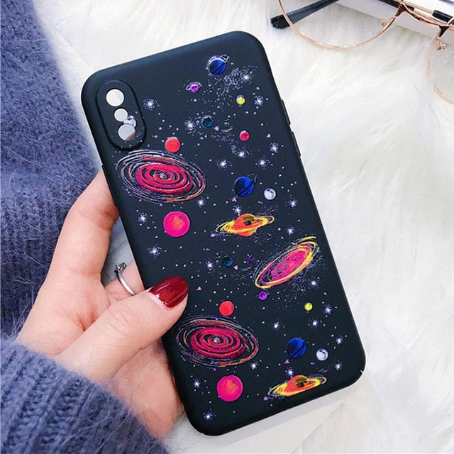 Pink Galaxy iPhone Case