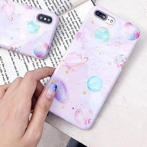 Candy Space iPhone Case