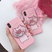 Glitter Piggy iPhone Case
