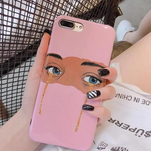 Glitter Tears iPhone Case