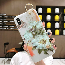 3D Flower Silicone iPhone Case