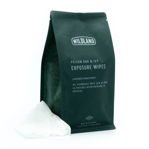 Poison Oak & Ivy Exposure Wipes - 12 Pack
