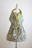 Vintage Hawaiian dress 1950's style- Small