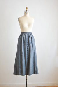 Vintage skirt buttoned down - XS-S