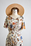 Vintage floral dreamy dress- Medium