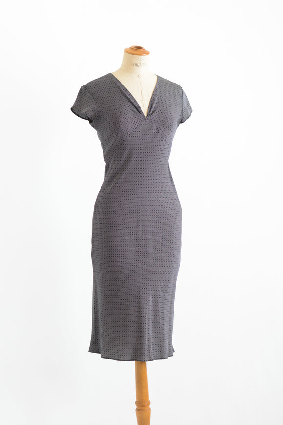 Vintage slip on casual dress-Small