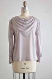 Vintage lavender blouse -Medium