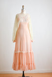 Vintage gunne sax maxi dress poet sleeves- XS 5