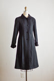 Vintage swing coat buttoned down - Small
