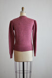 Vintage pink sweater - small