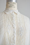 Vintage Edwardian blouse - Small