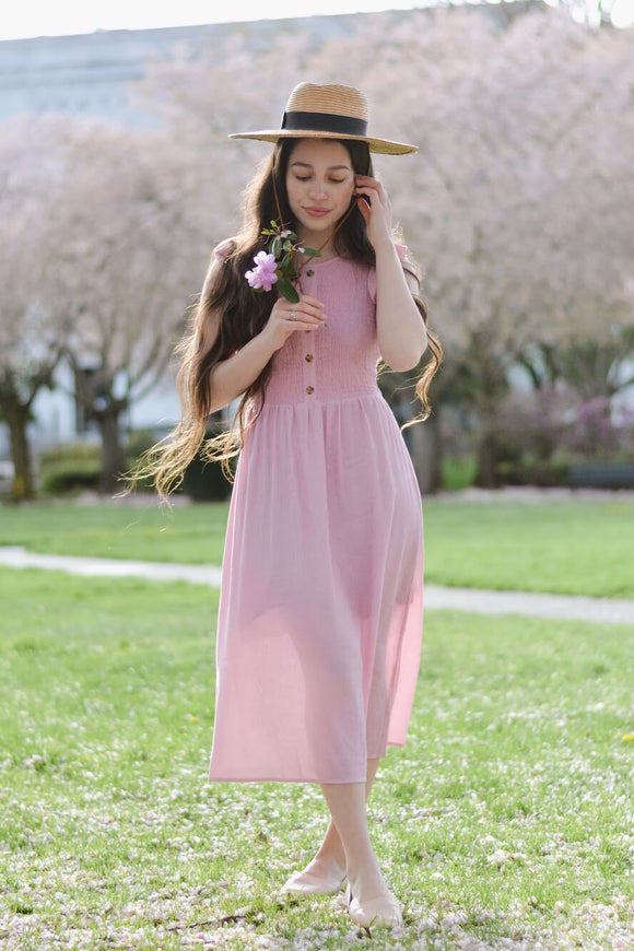 The evening Primrose dress