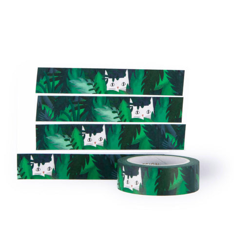 Jungle Cat Washi tape