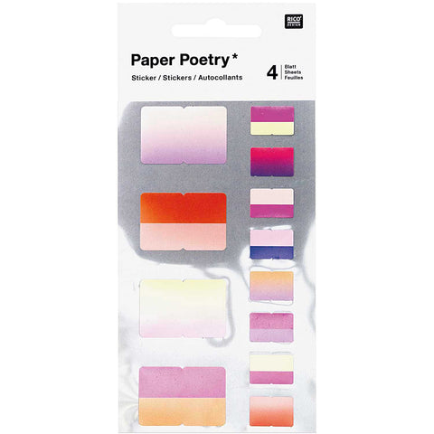 Paper Poetry low tack index tabs ideal for bullet journals and diaries