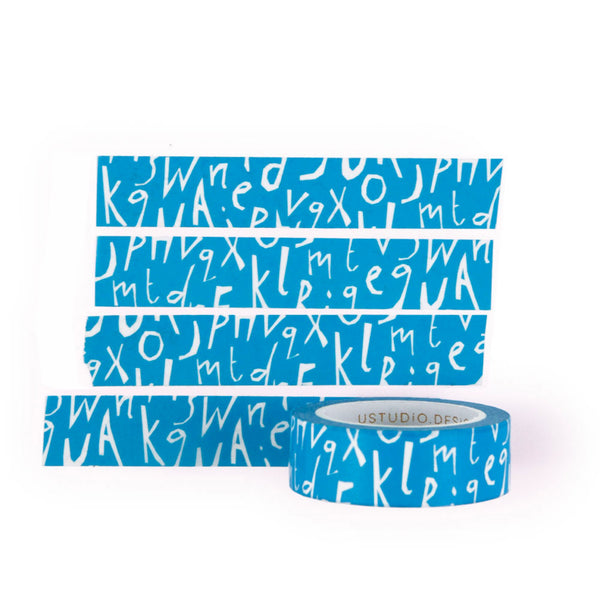 Washi Tape - Letter Jumble