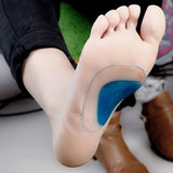 Soft Gel Orthotic Arch Support Cushion Insoles Pain Relieve Flat Feet Corrector