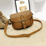 Women Solid Color Fashion Crossbody Single Shoulder Handbag Bag Party Gift