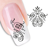 Fashion Floral Tiger Pattern Women Nail Art Stickers DIY Tool Manicure Decor