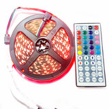 1 Piece LED DC12V Non Waterproof tape light string Lighting LED Strip with 44 Key Remote