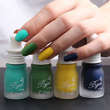 10ml Women Fashion Beauty Cosmetic Nail Art Tool Fragrance Frosted Matte Nail Polish