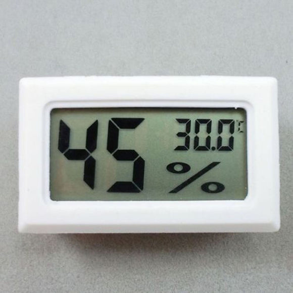 Mini Digital LCD Indoor Room Temperature Humidity Meter Thermometer Hygrometer