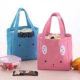 Insulated Cooler Lunch Bag Canvas Storage Handbag Travel Picnic Carry Tote