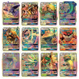 20Pcs/Set Game Cards Pokemon GX Game Figures English Anime Board Game GX fighting Playing Card No Repeat