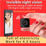 Invisible night version of the wireless camera video recording, remote control can record 24hr