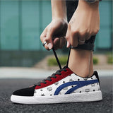 2018 spring new student shoes white shoes men's shoes fashion sports shoes leather men's shoes