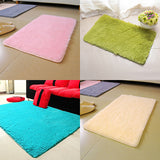 Candy Color Soft Anti-Skid Carpet Flokati Shaggy Rug Living Bedroom Floor Mat