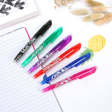Erasable 0.5mm Gel Ink Pen Student Writing Stationery School Office Supplies